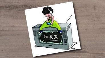 Milogame – TV Off – PC On