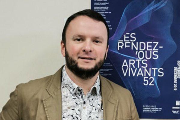 Fiche métier : Rémi Sabran – Directeur d'Arts vivants 52