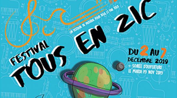 Adhérent : Le Festival Tous en Zic